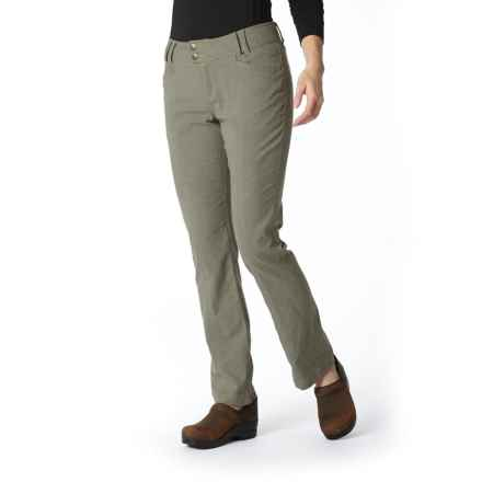 Royal Robbins Herringbone Discovery Strider Pants - UPF 50+ (For Women) in Everglade - Closeouts