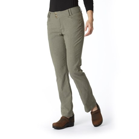 Royal Robbins Herringbone Discovery Strider Pants - UPF 50+ (For Women) in Everglade