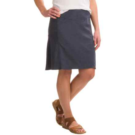 Royal Robbins Herringbone Discovery Strider Skirt - UPF 50+ (For Women) in Dark Indigo - Closeouts