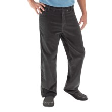 Royal Robbins Hi Livin' Corduroy Pants - UPF 50+ (For Men) in Obsidian - Closeouts