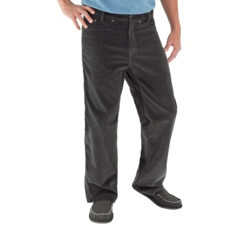 Royal Robbins Hi Livin' Corduroy Pants - UPF 50+ (For Men) in Obsidian
