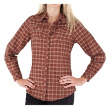 Royal Robbins High Noon Plaid Shirt - Long Sleeve (For Women) in Ember - Closeouts