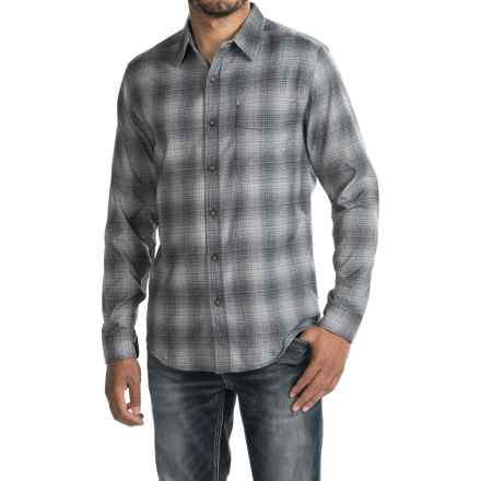 Royal Robbins High-Performance Flannel Shirt - UPF 50+, Long Sleeve (For Men) in Charcoal - Closeouts