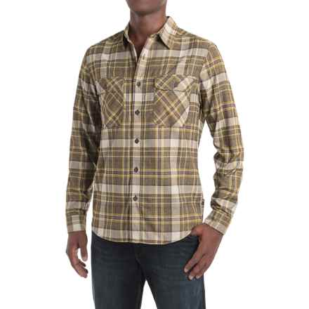 Royal Robbins High-Performance Plaid Flannel Shirt - Long Sleeve (For Men) in Cypress - Closeouts