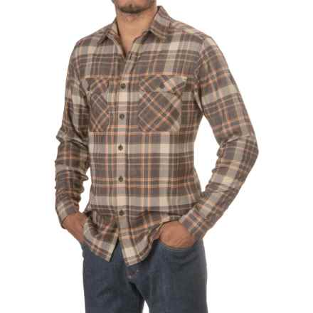 Royal Robbins High-Performance Plaid Flannel Shirt - Long Sleeve (For Men) in Desert Palm - Closeouts