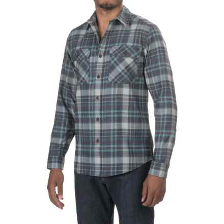 Royal Robbins High-Performance Plaid Flannel Shirt - Long Sleeve (For Men) in Phoenix Blue - Closeouts