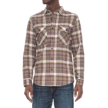 Royal Robbins High-Performance Plaid Flannel Shirt - UPF 50+, Long Sleeve (For Men) in Turkish Coffee - Overstock