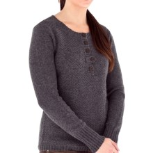 Royal Robbins Highland Henley Sweater (For Women) in Pewter - Closeouts