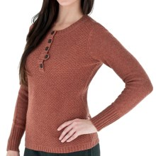 Royal Robbins Highland Henley Sweater (For Women) in Tea Berry - Closeouts