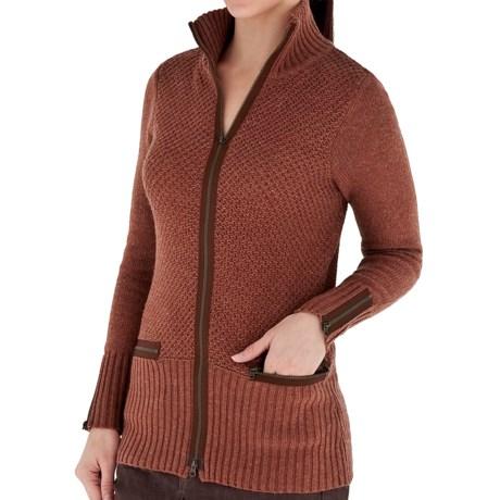 Image of Royal Robbins Highland Zip Cardigan Sweater (For Women)