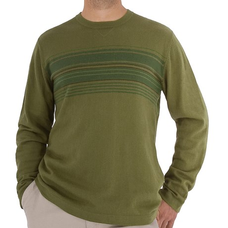 Royal Robbins Horizon Crew Sweater - UPF 50+, Angora, Long Sleeve (For Men) in Oregano