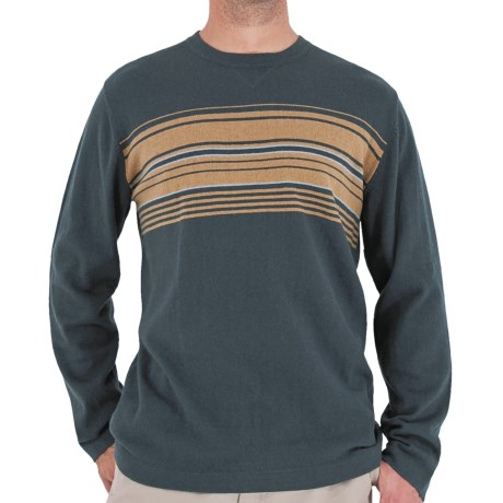 Royal Robbins Horizon Crew Sweater - UPF 50+, Angora, Long Sleeve (For Men) in Slate