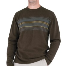 Royal Robbins Horizon Crew Sweater - UPF 50+, Angora, Long Sleeve (For Men) in Turkish Coffee - Closeouts