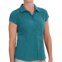 Royal Robbins Hydro Stretch Shirt - UPF 50+, Short Sleeve (For Women) in Dark Aqua - Closeouts