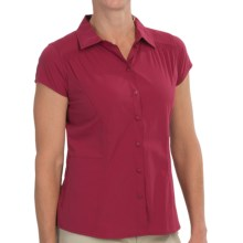 Royal Robbins Hydro Stretch Shirt - UPF 50+, Short Sleeve (For Women) in Raspberry - Closeouts