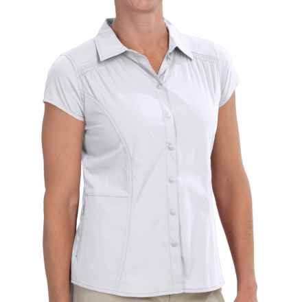 Royal Robbins Hydro Stretch Shirt - UPF 50+, Short Sleeve (For Women) in White - Closeouts