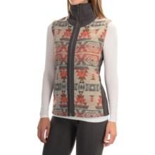 Royal Robbins Inca Jacquard Vest - UPF 50+, Full Zip (For Women) in Grey - Closeouts