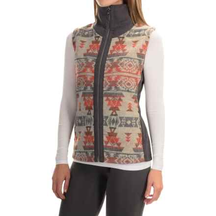 Royal Robbins Inca Jacquard Vest - UPF 50+, Full Zip (For Women) in Grey - Closeouts
