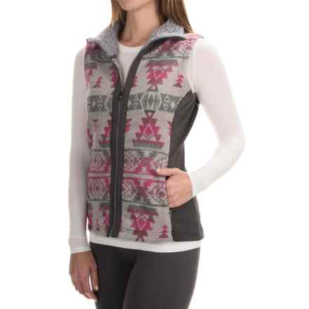 Royal Robbins Inca Jacquard Vest - UPF 50+, Full Zip (For Women) in Pewter - Closeouts