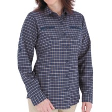 Royal Robbins Izzi Shirt - UPF 30+, Long Sleeve (For Women) in Blueprint - Closeouts