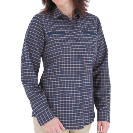 Royal Robbins Izzi Shirt - UPF 30+, Long Sleeve (For Women) in Blueprint