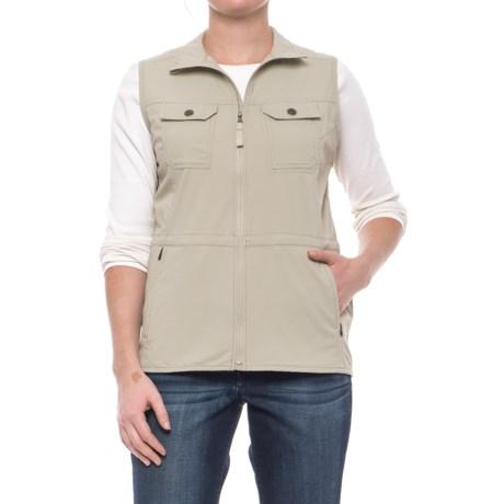 Royal Robbins Jammer Vest - UPF 50+ (For Women) in Light Khaki