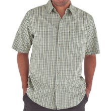 Royal Robbins Jasper Shirt - Organic Cotton-Rich, Short Sleeve (For Men) in Canopy - Closeouts