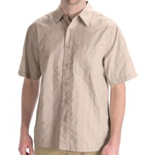 Royal Robbins Jasper Shirt - Organic Cotton-Rich, Short Sleeve (For Men) in Soapstone - Closeouts