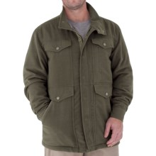 Royal Robbins Jeremiah Micro-Brushed Jacket (For Men) in Tundra - Closeouts