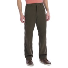 Royal Robbins Jeremiah Textured Twill Pants (For Men) in Tundra - Closeouts