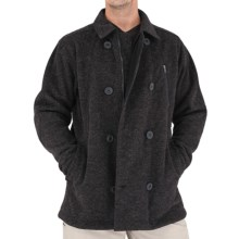 Royal Robbins Kaden Pea Coat Jacket (For Men) in Jet Black - Closeouts