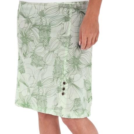 Royal Robbins Kalahari Skirt - Cool Mesh (For Women) in Agave