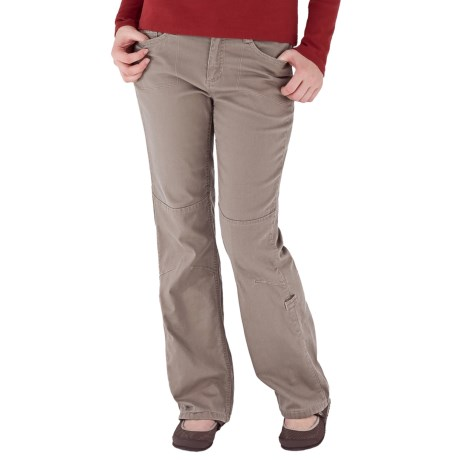 Royal Robbins Kick Around Roll-Up Pants - UPF 50+, Stretch Canvas (For Women) in Burro