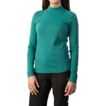 Royal Robbins Kick Back Mock Neck Shirt - UPF 50+, Long Sleeve (For Women) in Aquarius - Closeouts