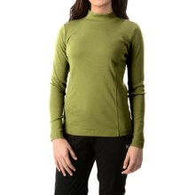 Royal Robbins Kick Back Mock Neck Shirt - UPF 50+, Long Sleeve (For Women) in Spanish Moss - Closeouts