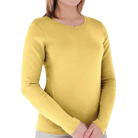 Royal Robbins Kick Back Shirt - UPF 50+, Long Sleeve (For Women) in Daffodill