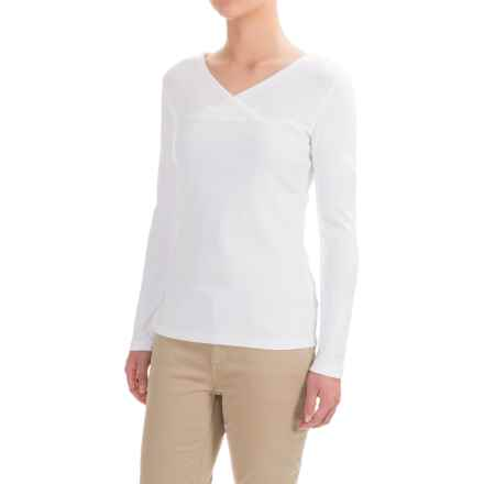 Royal Robbins Kick Back Shirt - UPF 50+, Long Sleeve (For Women) in White - Closeouts