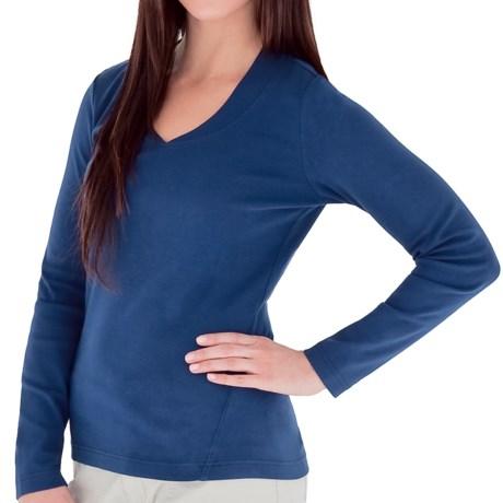 Royal Robbins Kick Back V-Neck Shirt - UPF 50+, Long Sleeve (For Women)