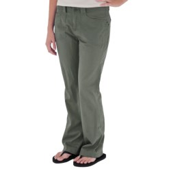 Royal Robbins Kick It Pants - UPF 50+, Roll Up (For Women) in Dark Crimson