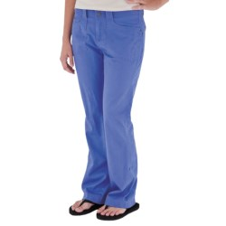 Royal Robbins Kick It Pants - UPF 50+, Roll Up (For Women) in Blueberry