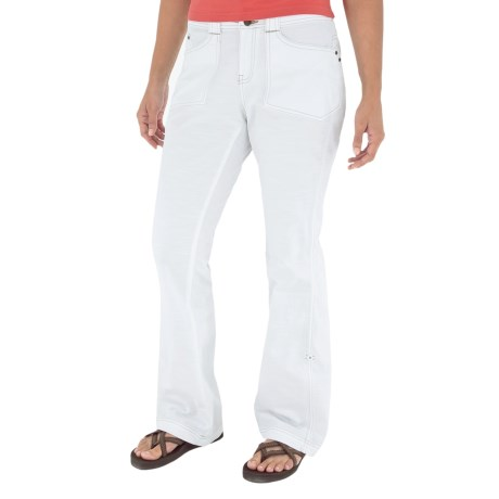 Royal Robbins Kick It Pants - UPF 50+, Roll Up (For Women) in White