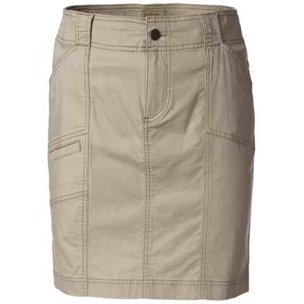 Royal Robbins Kick It Skirt - UPF 50+ (For Women) in Lite Khaki - Closeouts