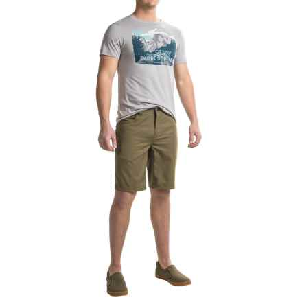 Royal Robbins Lasting Impressions T-Shirt - Crew Neck, Short Sleeve (For Men) in Grey - Closeouts