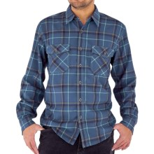 Royal Robbins Leadville Shirt - UPF 50+, Long Sleeve (For Men) in Deep Harbor Blue - Closeouts