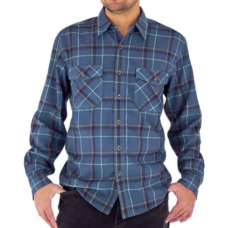 Royal Robbins Leadville Shirt - UPF 50+, Long Sleeve (For Men) in Deep Harbor Blue