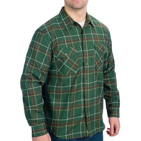 Royal Robbins Leadville Shirt - UPF 50+, Long Sleeve (For Men) in Pine