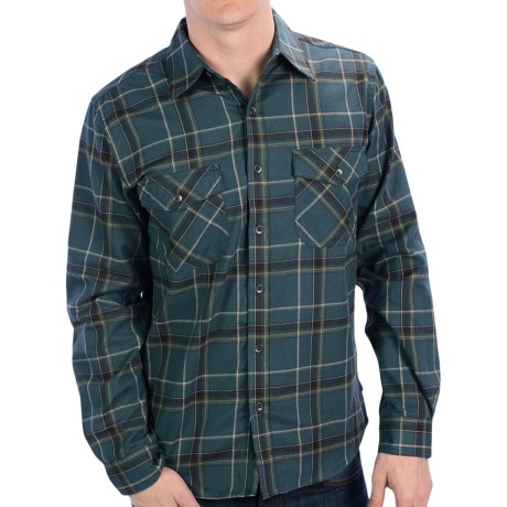 Royal Robbins Leadville Shirt - UPF 50+, Long Sleeve (For Men) in Shadow Blue