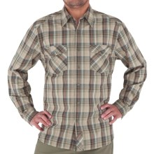 Royal Robbins Lenny Plaid Shirt - Long Sleeve (For Men) in Khaki - Closeouts