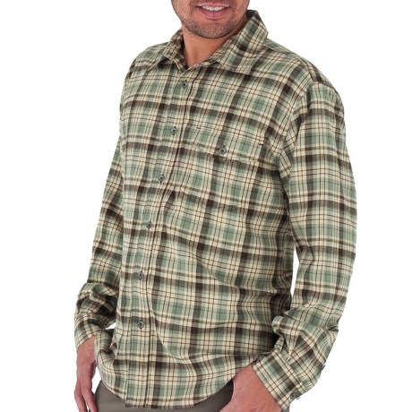 Royal Robbins Lewiston Plaid Shirt - UPF 50+, Long Sleeve (For Men) in Canopy