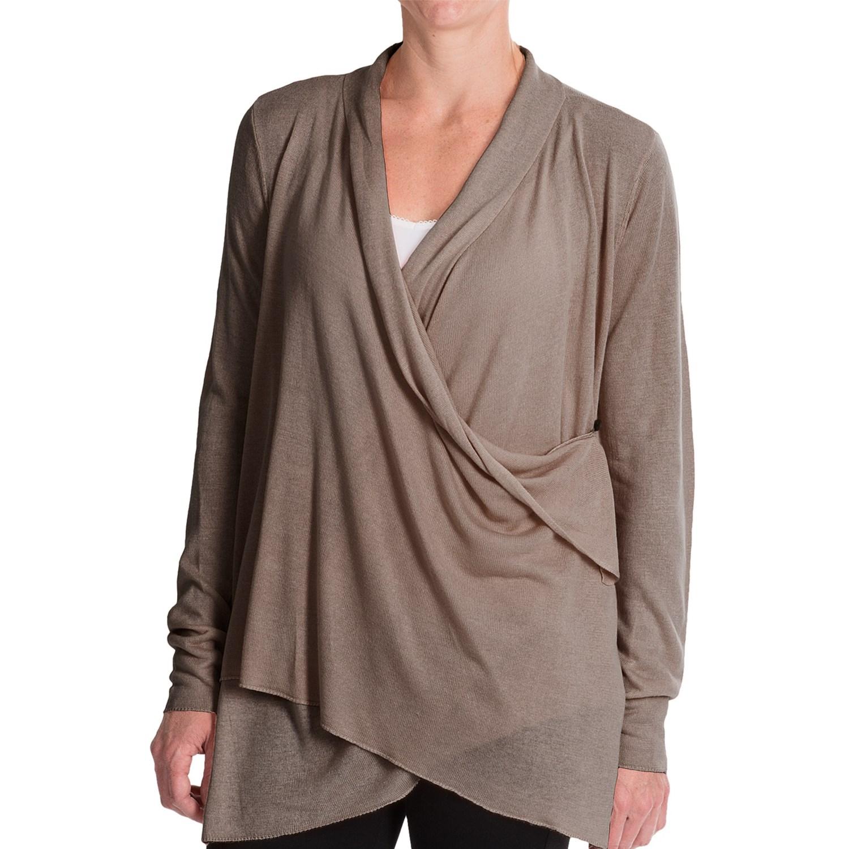 Royal Robbins Lindsey Wrap Cardigan Sweater (For Women) - Save 48%